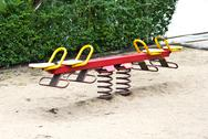 Stock Photo of seesaw