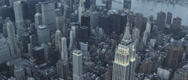 Stock Video Footage of Aerial View of Cityscape 2
