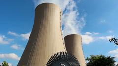 nuclear turbine HD - stock footage