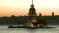 Maiden's Tower#1.mxf Stock Footage