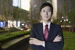 Portrait Of Professional Businessman Stock Photos