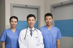 Portrait Of Medical Team - stock photo