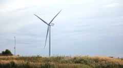 Windpower - green energy - stock footage