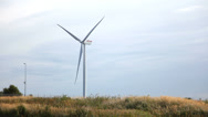 Stock Video Footage of Windpower - green energy