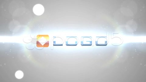After Effects Project - Pond5 White Energy Ball Big Particle and Flare Logo ...