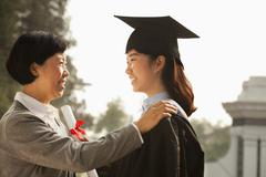 Proud Mother of a Graduate Stock Photos