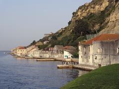 Portugese coastal scenery Stock Photos