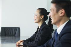 Businesswoman In Conference Room Stock Photos