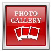 Photo gallery icon Stock Illustration