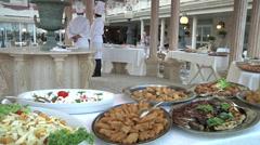 Sicilian food. Stock Footage