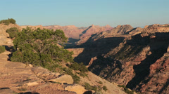 San Rafael Wedge Overlook Grand Canyon Utah HD 9861 Stock Footage