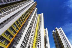 Colorful apartment Stock Photos