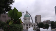 Stock Video Footage of St. Louis , Arch