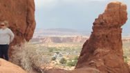 Stock Video Footage of Arches National Park TL