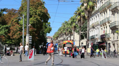 Montpellier, South France 10 Stock Footage