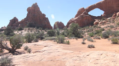 Arches National Park Stock Footage