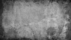 Grunge Newspaper Texture Background - stock footage