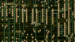 Electronic Circuit Boards -  4K -  4096x2304 Stock Footage