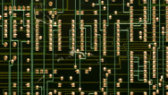 Stock Video Footage of Electronic Circuit Boards -  4K -  4096x2304