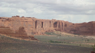 Stock Video Footage of Time Lapse Arches National Park