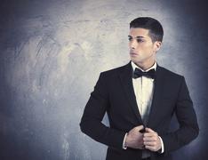Stock Photo of elegant man