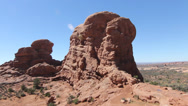 Stock Video Footage of Arches National Park
