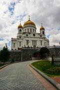 christ the saviour in moscow, russia - stock photo
