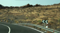 Timelapse driving serpentines in Gran Canaria Footage
