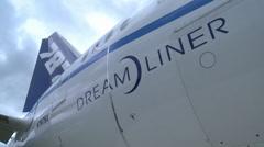 Boeing 787 Dreamliner - stock footage