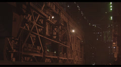Interior of the metallurgical plant  Stock Footage