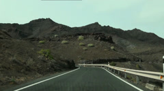 Sightseeing tour with serpentines in Gran Canaria Stock Footage