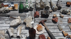 Seaside Antiques - stock footage