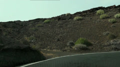 Timelapse with serpentines in Gran Canaria Stock Footage