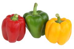 Stock Photo of Color bulgarian peppers