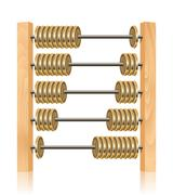 Stock Illustration of financial abacus
