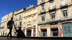 Montpellier, South France 5 Stock Footage