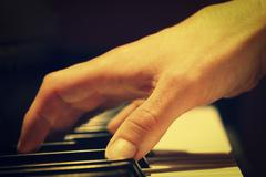 The Pianist Stock Photos