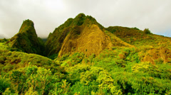 Iao Valley Hawaii - 4K Stock Footage
