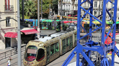 Montpellier, South France 1 Stock Footage