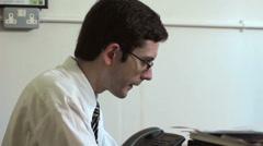Businessman under pressure Stock Footage