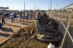 Moore Oklahoma, EF5 Tornado damage & aftermath PT5 - stock photo
