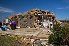 Moore Oklahoma, EF5 Tornado damage & aftermath PT15 - stock photo