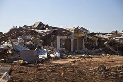 Moore Oklahoma, EF5 Tornado damage & aftermath PT24 - stock photo