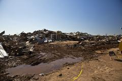 Stock Photo of Moore Oklahoma, EF5 Tornado damage & aftermath PT25