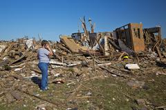 Stock Photo of Moore Oklahoma, EF5 Tornado damage & aftermath PT26