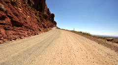 POV Driving in Navajo Nation - Time Lapse   -  4K -  4096x2304 Stock Footage