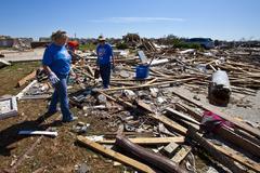 Moore Oklahoma, EF5 Tornado damage & aftermath PT53 Stock Photos