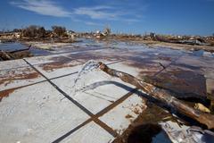 Moore Oklahoma, EF5 Tornado damage & aftermath PT59 - stock photo