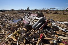 Moore Oklahoma, EF5 Tornado damage & aftermath PT60 - stock photo