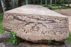 Stone Book Gal Pota - stock photo